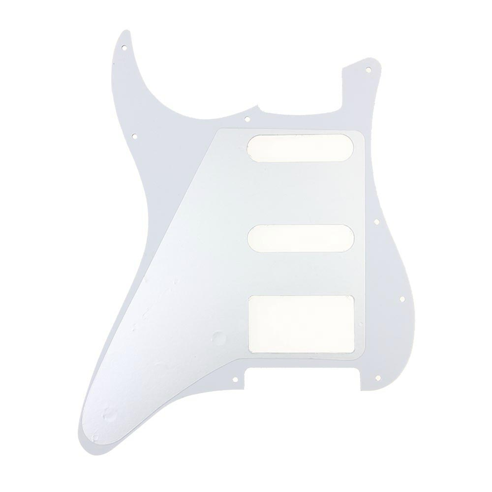 Yellow Pearl 3 Ply ST Strat Style HSS Guitar Pickguard