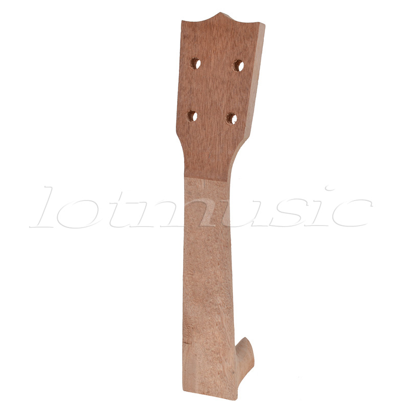 Kmise Mahogany Soprano Ukulele Neck Unfinished D...