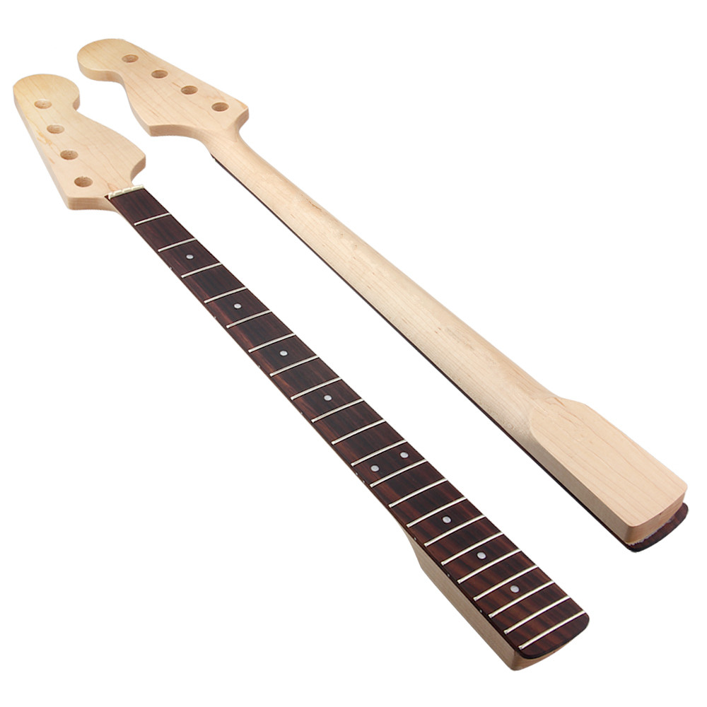 Kmise Bone Nut Electric Bass Neck for Precision ...