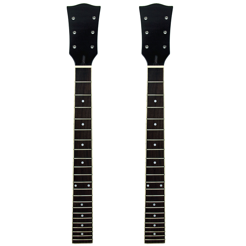 2 set 22 Frets LP Guitar Neck Maple Rosewood Sol...
