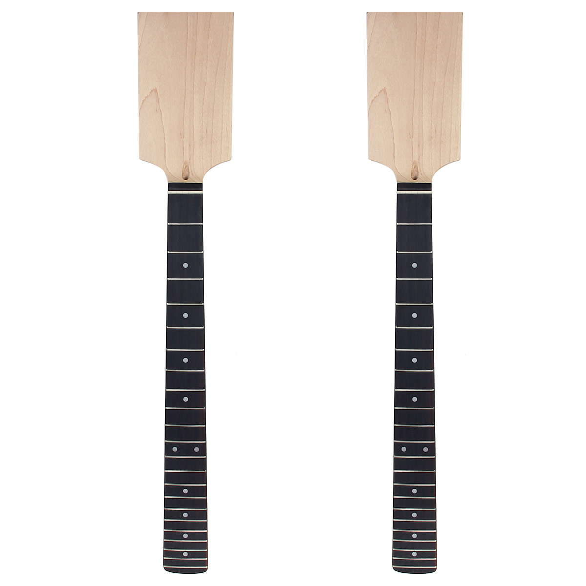 2 set Electric Guitar Neck Paddle Head Rosewood ...