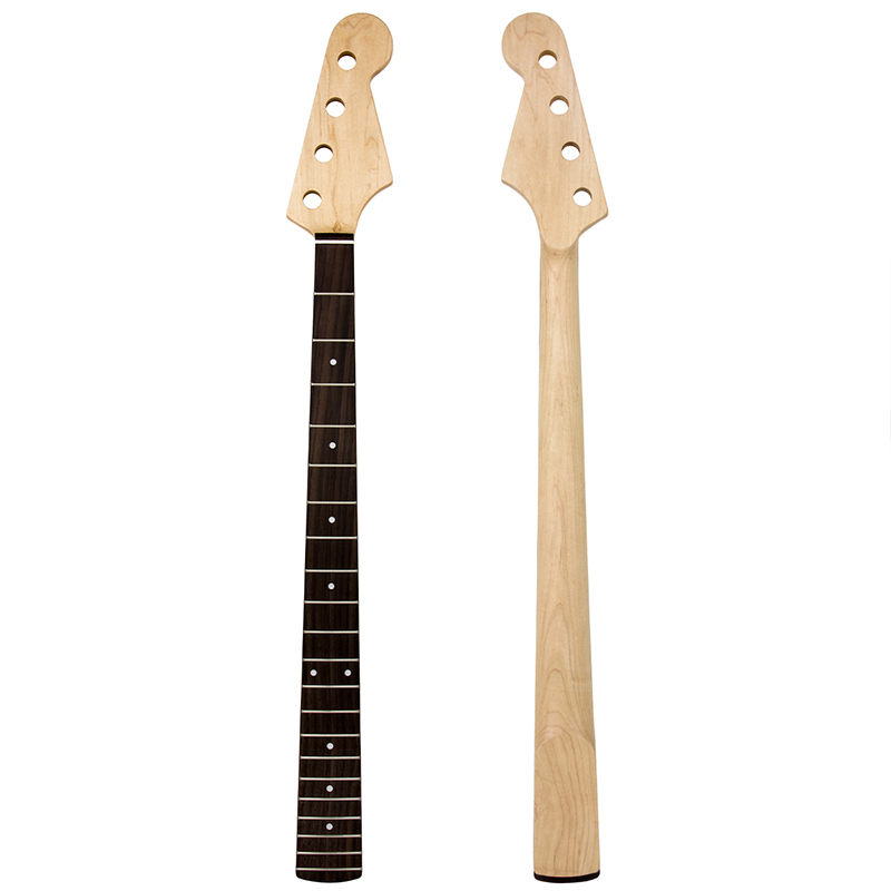 Kmise Electric Bass Neck for Fender Jazz Bass Gu...