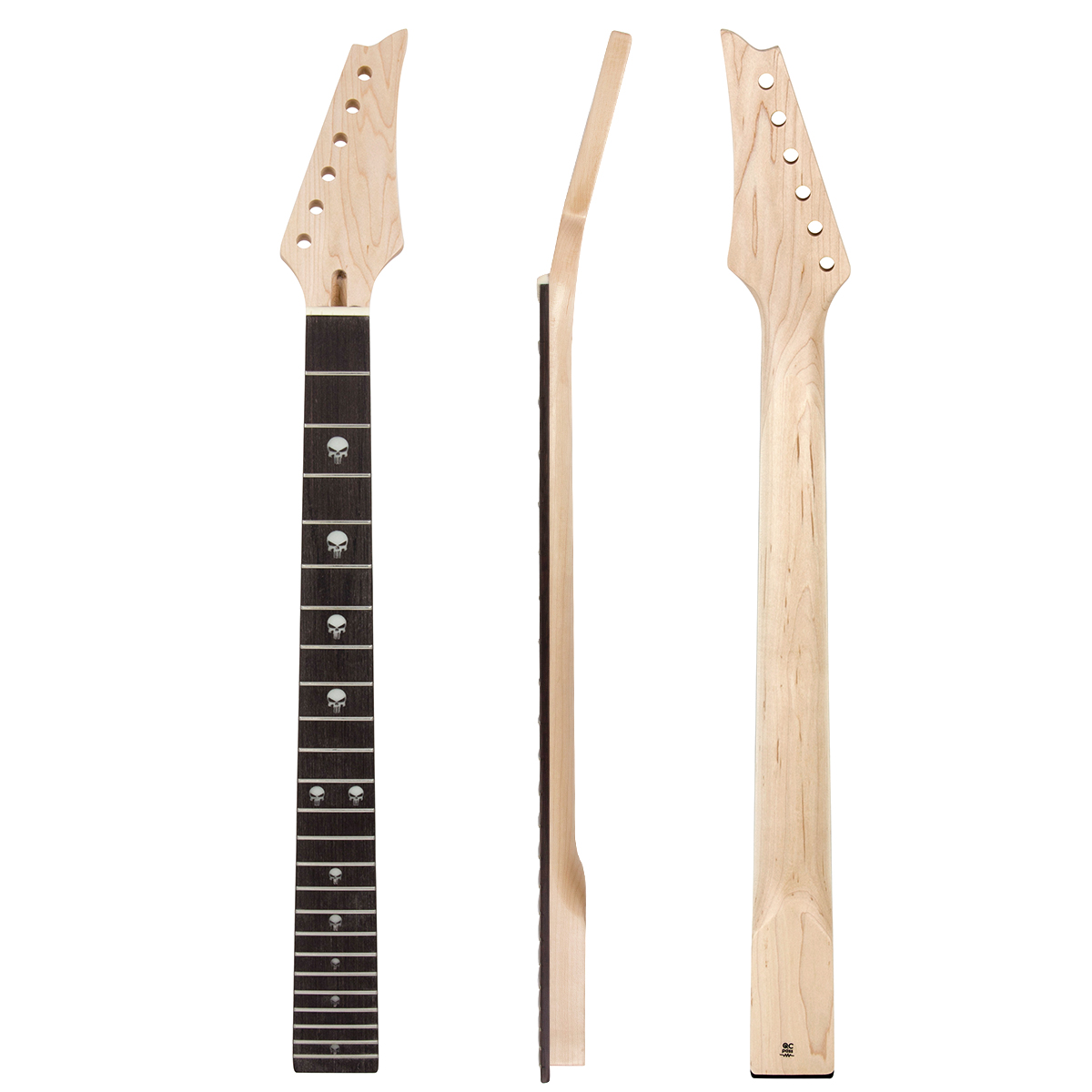 Kmise Electric Guitar Neck Canada Maple 24 Large...